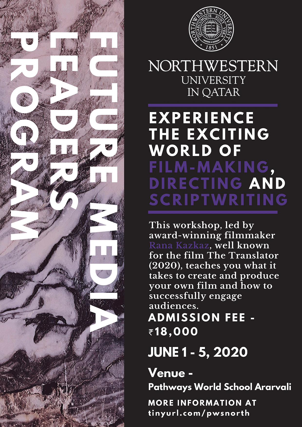 Northwestern University Workshops