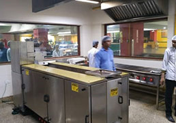 Automatic Roti Maker - can churn out more than 1k perfectly baked rotis per hour